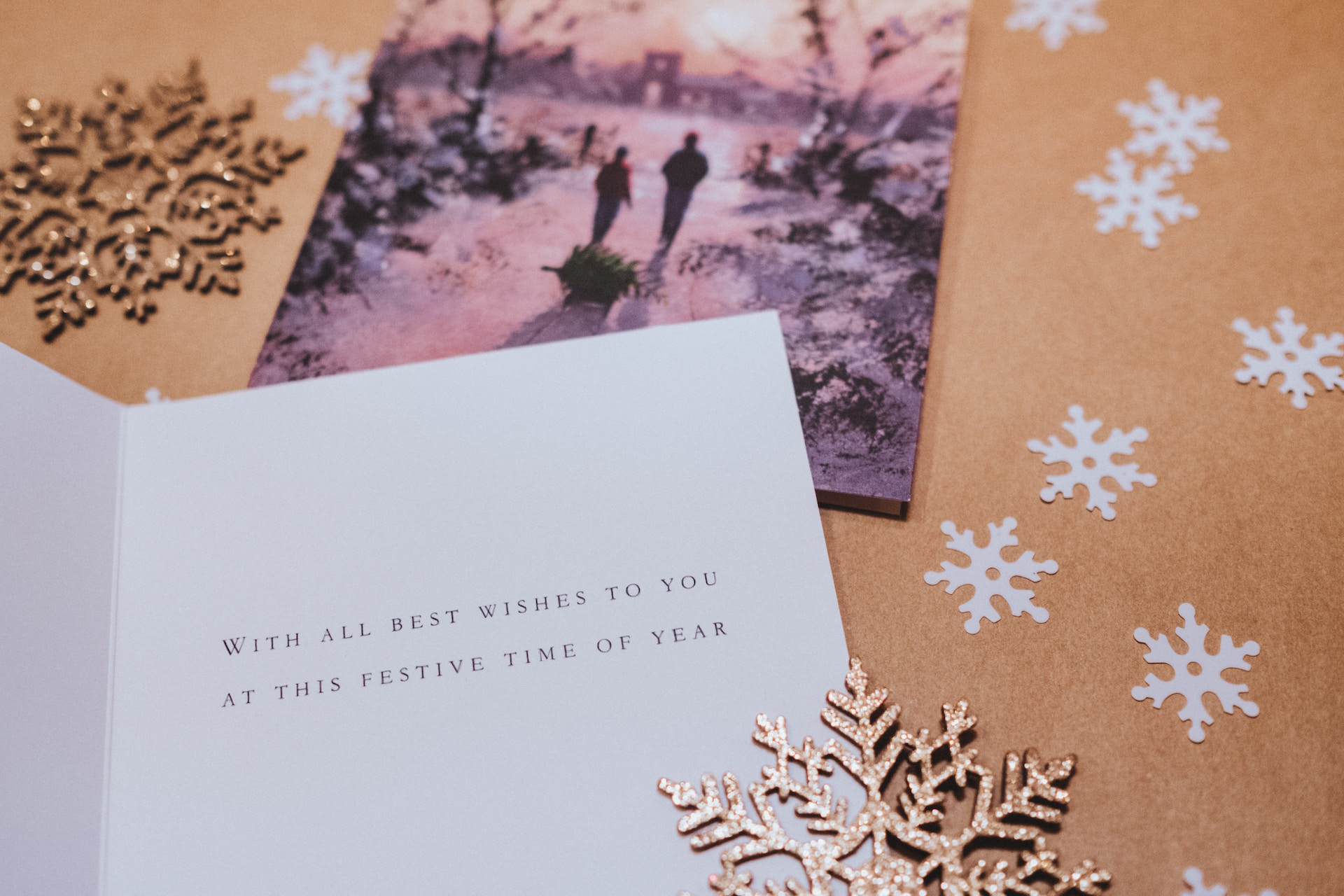 Writing the dreaded Christmas card letter